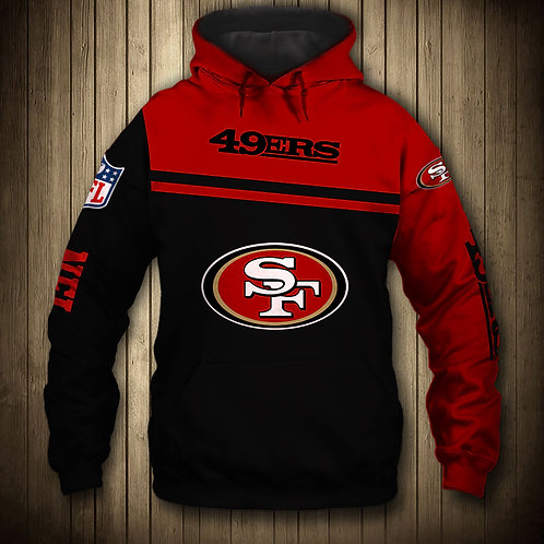 OFFICIAL-N.F.L.SAN-FRANCISCO-49ERS-TEAM-PULLOVER-HOODIES & GRIM-REAPER-IN-SUDDEN