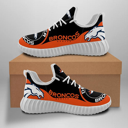 OFFICIAL-DENVER-BRONCOS-TEAM-WHITE-SPORT-SHOE/NEW-CUSTOM-3D-DESIGN-BRONCOS-LOGOS
