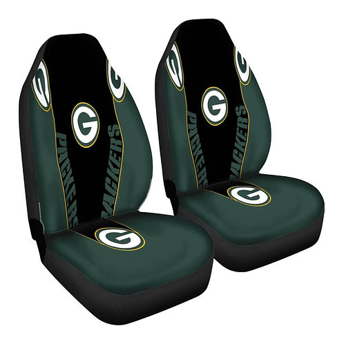 OFFICIAL-GREEN-BAY-PACKERS-TEAM-CAR-SEAT-COVERS/CUSTOM-3D-DESIGN-PACKERS-LOGOS!!