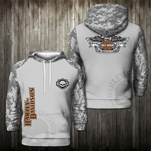 OFFICIAL-HARLEY-DAVIDSON-PULLOVER-HOODIES/3D-CUSTOM-GRAPHIC-PRINTED-CAMO.HARLEY!
