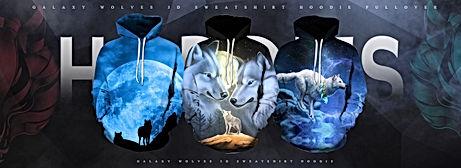 3D-custom graphic-printed/premium wolf hoodies & tees...
