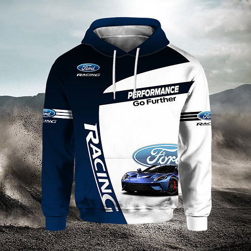 OFFICIAL-NEW-FORD-PULLOVER-HOODIES/CUSTOM-3D-GRAPHIC-PRINTED-DOUBLE-SIDED-DESIGN
