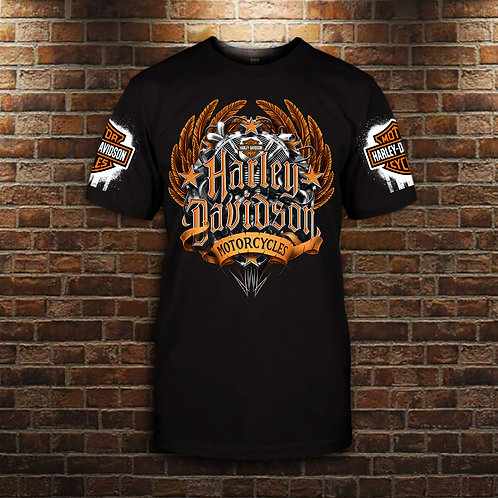 OFFICIAL-CLASSIC-HARLEY-DAVIDSON-TEES/NEW-3D-CUSTOM-GRAPHIC-PRINTED-HARLEY-LOGOS
