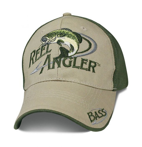 OFFICIAL-REEL-ANGLER/HARDCORE-FRESH-WATER-FISHING-SPORTSMEN/3D-CUSTOM-PRINT-HATS