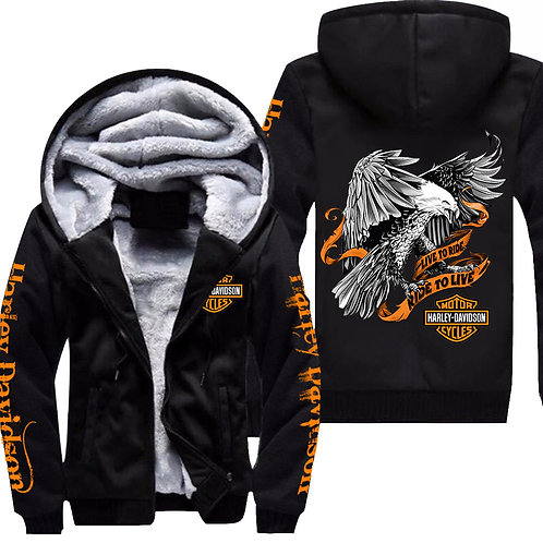 OFFICIAL-3D-GRAPHIC-PRINTED-HARLEY-PULLOVER-HOODIES/LIVE-TO-RIDE & RIDE-TO-LIVE!