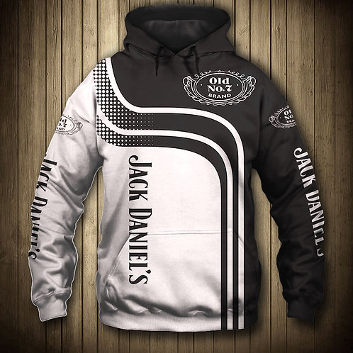 OFFICIAL-JACK-DANIELS-PULLOVER-HOODIES/CUSTOM-3D-GRAPHIC-PRINTED-OLD-NO.7-BRAND!