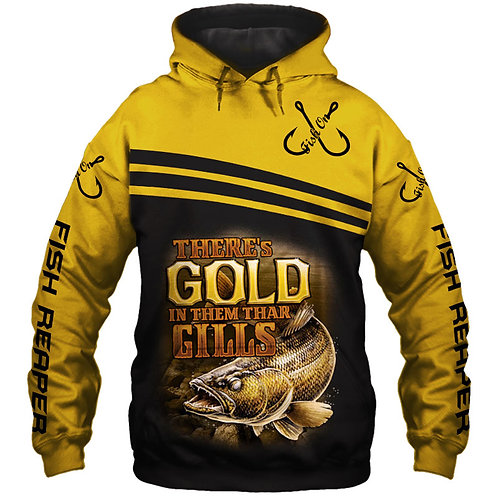 OFFICIAL-SPORT-FISHING-PULLOVER-HOODIES/NEW-CUSTOM-3D-PRINTED-THE-FISH-REAPER!!