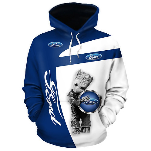 OFFICIAL-FORD-GROOT-PULLOVER-HOODIES/NEW-3D-CUSTOM-PRINTED-DOUBLE-SIDED-HOODIES!