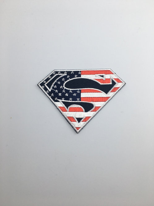 Superman American Flag