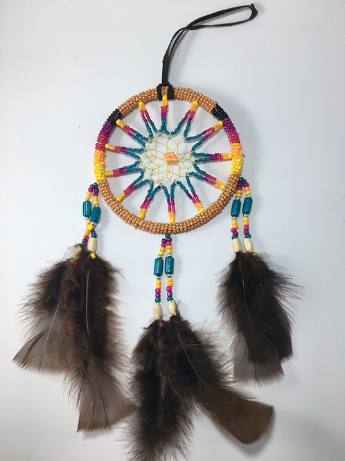 M Beaded Dreamcatcher