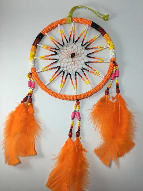 L Beaded Dreamcatcher