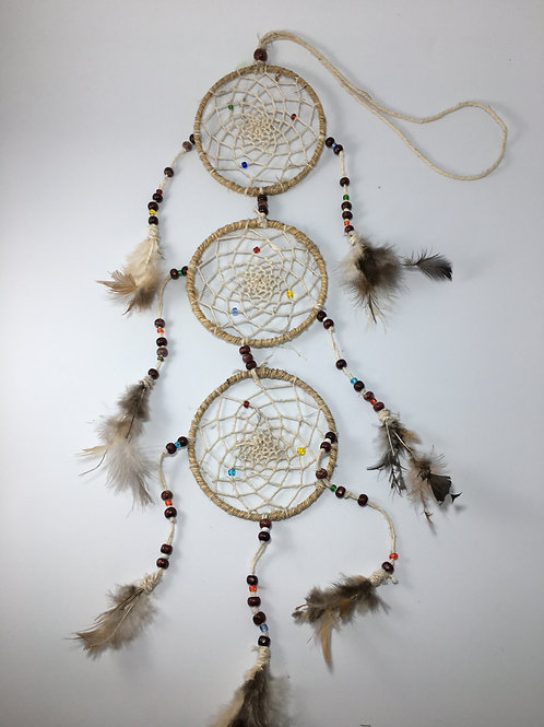 3-tier Hemp Dreamcatcher