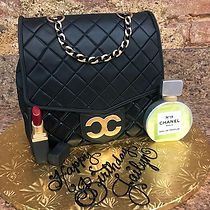 Coco & Chanel purse birthday cake