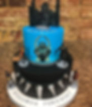 Black Panther, birthday cake