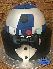 Star Wars Cake, r2d2