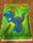 trex, dinosaur, birthday cake,