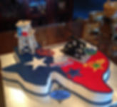 texas shaped cake, dallas stars, Cowboys, texas rangers, dallas mavericks
