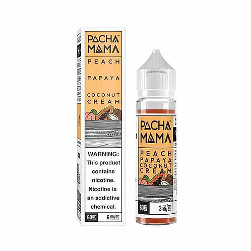 Pacha Mama Peach Papaya Coconut Cream