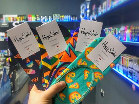 Короткие носки и следы Happy Socks
