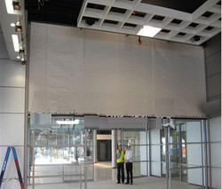 fiberglass cloth fire curtain B (1)