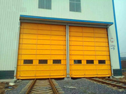 fire curtain door
