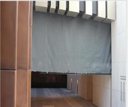 fiberglass cloth fire curtain A