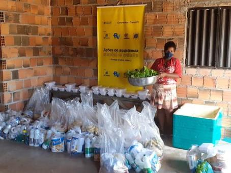 Adevima distribui cestas básicas para mil famílias no Pará
