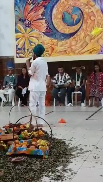 Celebração de abertura do 2° Encontro Nacional de Juventudes e Espiritualidade Libertadora.