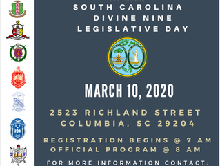SAVE THE DATE: SC Divine Nine Legislative Day