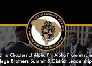 SC ALPHA 2019 College Brothers Summit & District Leadership Retreat