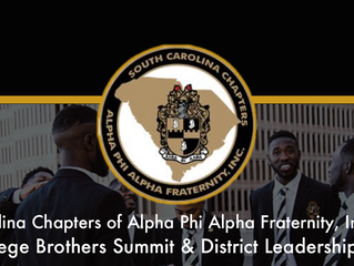 SC ALPHA 2019 College Brothers Summit & District Leadership Retreat