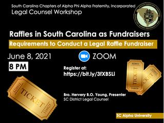 Raffles in South Carolina as Fundraisers