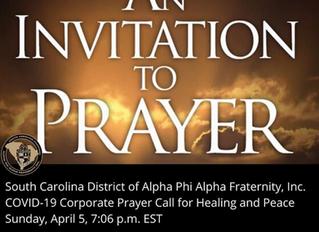 An Invitation to Prayer...