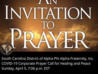 An Invitation to Prayer...