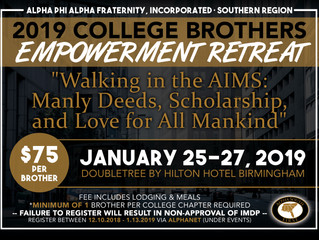 2019 College Brothers Empowerment Retreat