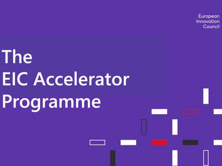 The New 2021 EIC Accelerator Program