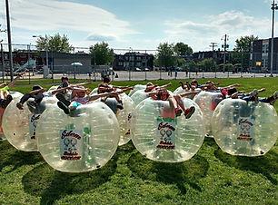 Edem Bubble Soccer Montreal, enfant