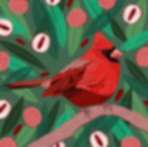 Cardinal & Lychees.jpg