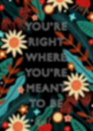 You're Right Where You're Meant To Be.jp