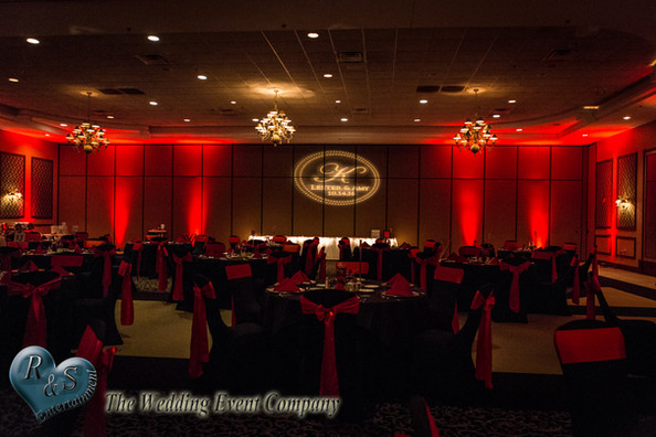 Up Lighting_Name Gobo_Chair Covers