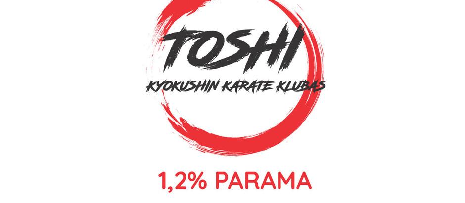 SKIRKITE 1,2%GPM SAVO KLUBUI!