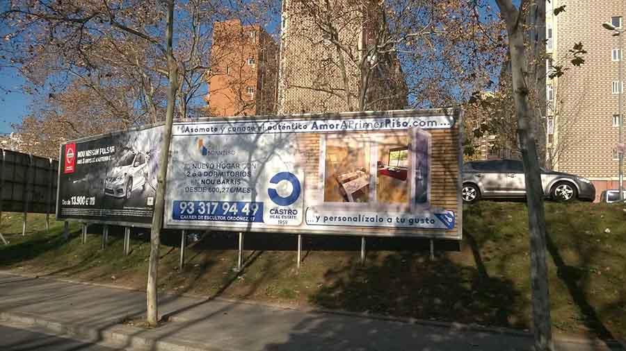 publicidad exterior valla