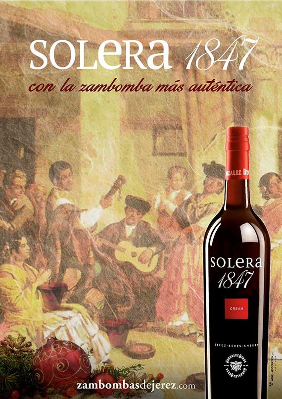 Gráfica para la campaña de Solera 1847 Navidad 2018