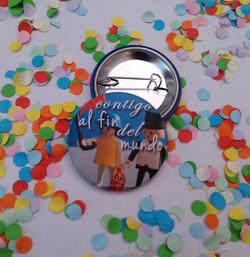 Chapa boda personalizada