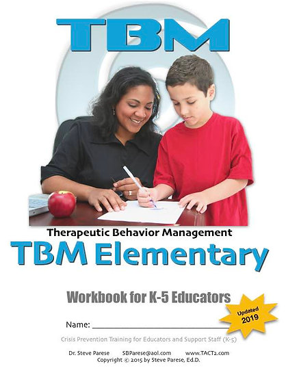 TBM Elementary School workbook (updated for 2019)