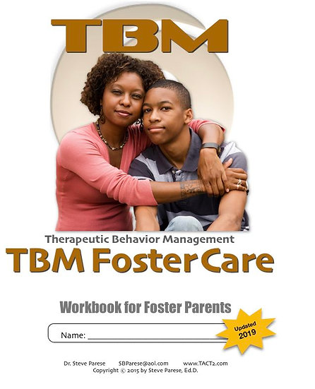 TBM Foster Care workbook (updated for 2019)