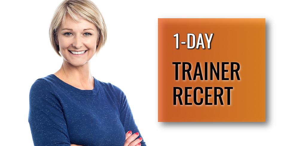 June 5, 2020 Trainer Recert in Atlanta, GA