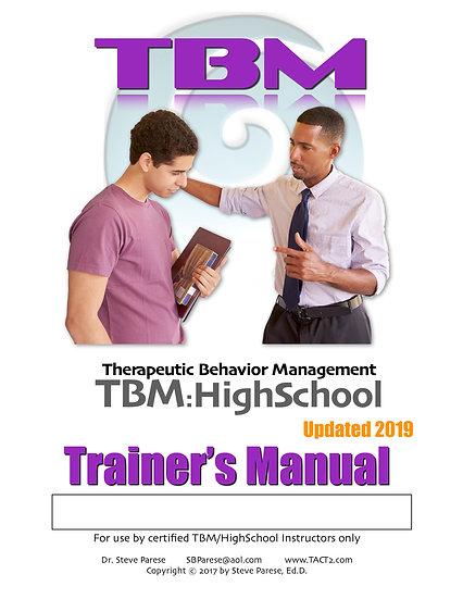 TBM High School Trainer Manual (rev 2019)