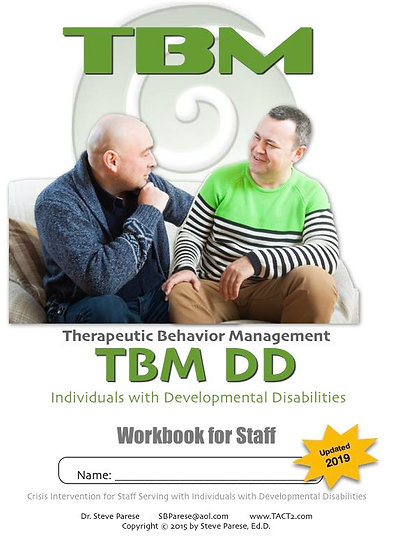 TBM DD workbook (updated for 2019)