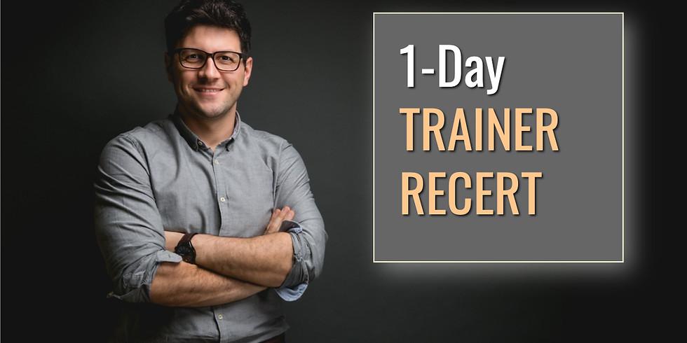 June 21, 2019 Trainer Recert in Macon, GA